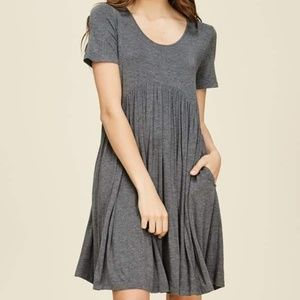 Grey muse dress